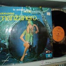 Discos de vinilo: PETER DELIS Y SU ORQUESTA LP LA MUSICA DE ARMANDO MANZANERO SPAIN . Lote 31574135