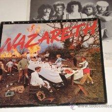 Discos de vinilo: NAZARETH / MALICE IN WONDERLAND - LP USA 1980 CON ENCARTES/ LETRAS - TOTALMENTE NUEVO A ESTRENAR!!!!. Lote 31575188