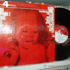 Discos de vinilo: THE SUMMER SOUND OF MIKE LEANDER LP CALIDA COMPAÑIA Y BEBIDAS FRIAS SPAIN. Lote 31575199