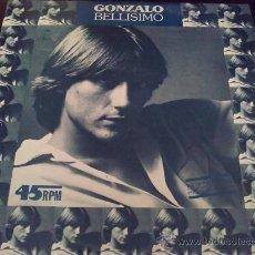 Discos de vinilo: GONZALO, BELLÍSIMO. MAXI SINGLE PROMOCIONAL DE VINILO. Lote 31593295