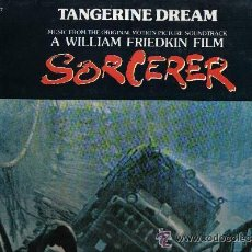 Disques de vinyle: SORCERER -CARGA MALDITA-LP BANDA SONORA ORIGINAL TANGERINE DREAM 1977 MCA SPA. Lote 31583836