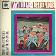 Discos de vinilo: LOS TEEN TOPS EP SELLO CBS AÑO 1963. Lote 31592787