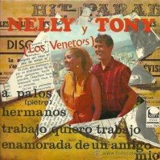 Discos de vinilo: NELLY & TONY (EX-TNT.) EP SELLO CEM AÑO 1967 . Lote 31592942