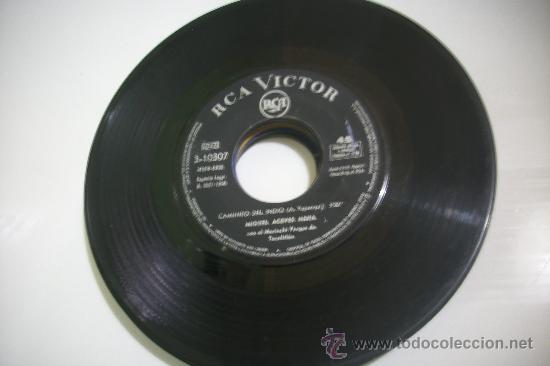 SINGLE SIN CARATULA/ MIGUEL ANGEL ACEVES /LUZ DE LUNA +CAMINITO DEL INDIO/RCA 1968 PEPETO (Música - Discos - Singles Vinilo - Flamenco, Canción española y Cuplé)