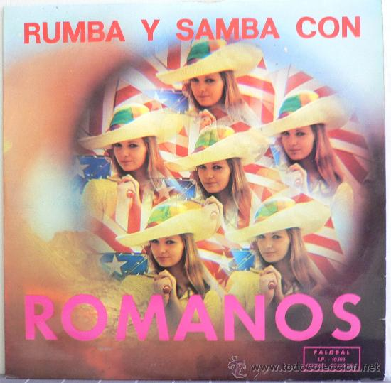 RUMBA Y SAMBA CON ROMANOS (LP PALOBAL 1974) (Música - Discos - LP Vinilo - Orquestas)