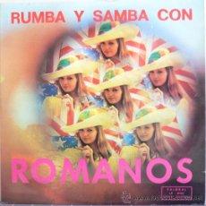 Disques de vinyle: RUMBA Y SAMBA CON ROMANOS (LP PALOBAL 1974). Lote 31600723