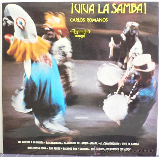 CARLOS ROMANOS - ¡VIVA LA SAMBA! (LP OLYMPO 1974) (Música - Discos - LP Vinilo - Orquestas)