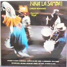 Disques de vinyle: CARLOS ROMANOS - ¡VIVA LA SAMBA! (LP OLYMPO 1974). Lote 31600762