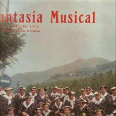 Discos de vinilo: LP EUSKADI FOLK - AGRUPACION MUSICAL PEÑA ALCOYANO DE TOLOSA . Lote 31605303