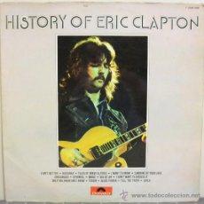 Discos de vinilo: ERIC CLAPTON - HISTORY OF ERIC CLAPTON (DOBLE LP ORIGINAL ESPAÑOL 1972). Lote 31624153