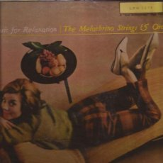 Discos de vinilo: LP-MELACHRINO STRINGS-MUSIC FOR RELAXATIONS-RCA 2278-ESPAÑA-EASY LISTENING. Lote 31631063