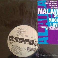 Discos de vinilo: MALAIKA SO MUCH LOVE - MAXI SINGLE. Lote 31634143