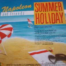 Discos de vinilo: NAPOLEON AND FRIENDS - SUMMER HOLIDAY. - 45 RPM.. Lote 31636863