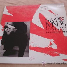 Discos de vinilo: SIMPLE MINDS, SANCTIFY YOURSELF, EXTENDED MIX - 45 RPM.. Lote 31636928