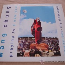 Discos de vinilo: WANG CHUNG, PRAYING TO A NEW GOD. - 45 RPM.. Lote 31637092