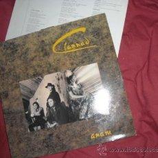 Discos de vinilo: CLANNAD LP ANAM - BMG RCA ENYA CON ENCARTE LETRA DE CANCIONE. Lote 31639598