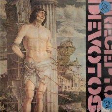 Discos de vinilo: PRECEPTOS DEVOTOS - BAJADA DE ANFETAS + 3 (MAXI) TWINS 1985 - VG++/EX. Lote 31642741