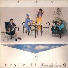 Discos de vinilo: TANGO - DESDE EL EXILIO (LP) PDI 1986 CON HOJA PROMOCIONAL - NUEVO!. Lote 31654550