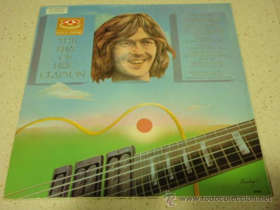 Discos de vinilo: ERIC CLAPTON ( THE BEST OF ERIC CLAPTON ) 1970 - GERMANY LP33 KARUSSELL - Foto 2 - 31655113