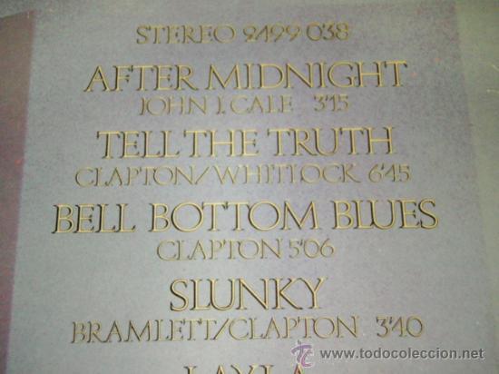 Discos de vinilo: ERIC CLAPTON ( THE BEST OF ERIC CLAPTON ) 1970 - GERMANY LP33 KARUSSELL - Foto 3 - 31655113