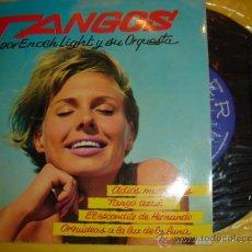 Discos de vinilo: ENOCH LIGHT -EP- TANGOS - RARE SPAIN UNIQUE GIRL COVER. Lote 31656527