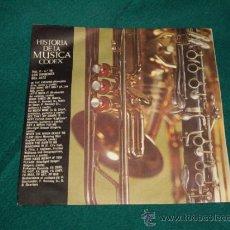 Discos de vinilo: HISTORIA DE LA MUSICA - LOS ORIGENES DEL JAZZ. Lote 31658808