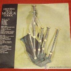 Discos de vinilo: HISTORIA DE LA MUSICA - LA MUSICA EN GRAN BRETAÑA E IRLANDA. Lote 31658762