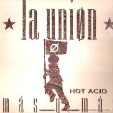 Discos de vinilo: LA UNION - MAS Y MAS (REMIX) + 2 (MAXI) WEA 1988 - VG++/VG++. Lote 31666062
