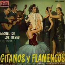 Discos de vinilo: MIGUEL DE LOS REYES - 1961. Lote 31667078