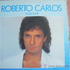 Discos de vinil: LP - ROBERTO CARLOS - VOLVER - PROMOCIONAL ESPAÑOL, CBS 1988. Lote 53250903