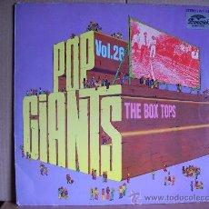 Discos de vinilo: THE BOX TOPS---- POP GIANTS VOL.26. Lote 31676460