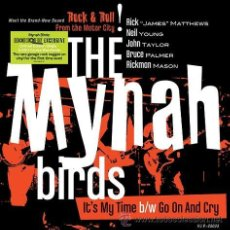 Discos de vinilo: SINGLE THE MYNAH BIRDS IT´S MY TIME VINILO NEIL YOUNG BAND 1966 GARAGE MOD. Lote 94111434
