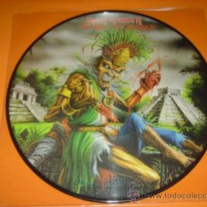 Discos de vinilo: IRON MAIDEN THE HEART OF THE BEAST PICTURE DISC. Lote 31686396