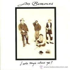 Discos de vinilo: BERRONES SINGLE SELLO AREA CREATIVA AÑO 1992 (PROMOCIONAL). Lote 31698136