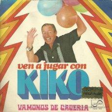 Discos de vinilo: KIKO LEGARD SINGLE SELLO ZAFIRO AÑO 1974. Lote 31701153