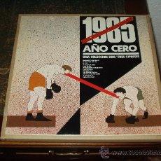 Discos de vinilo: 1985 AÑO CERO LP UNA COLECCION DE DRO/TRES CIPRESES MUY RARO. Lote 54906201