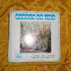 Discos de vinilo: CARLOS DO CARMO. CANOAS DO TEJO. EP. EDITADO EN PORTUGAL 1973. IMPECABLE. Lote 31703993