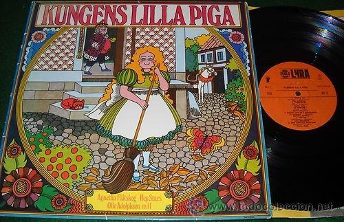 KUNGENS LILLA PIGA (1972) LP ABBA AGNETHA FALTSKOG RARE SNOVIT.. HEP STARS (Música - Discos - LPs Vinilo - Música Infantil)