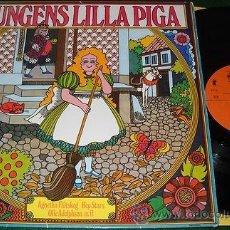 Discos de vinilo: KUNGENS LILLA PIGA (1972) LP ABBA AGNETHA FALTSKOG RARE SNOVIT.. HEP STARS. Lote 31713417