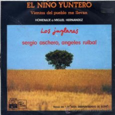 Disques de vinyle: LOS JUGLARES / EL NIÑO YUNTERO / VIENTOS DEL PUEBLO LLEVAN (SINGLE 1976). Lote 31727636