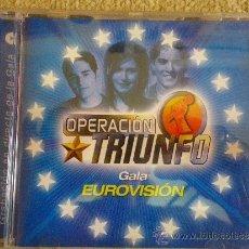 Discos de vinilo: OPERACION TRIUNFO GALA EUROVISION CD ALBUM DEL AÑO 2002 9 TEMAS DAVID BISBAL DAVID BUSTAMANTE ROSA. Lote 150752616