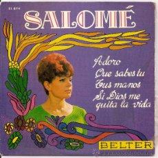 Discos de vinil: SALOME-EP ADORO +3. Lote 31735779