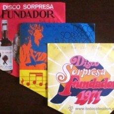 Discos de vinilo: LOTE DE 3 EPS DE WALDO DE LOS RÍOS - FUNDADOR 1969,1971 Y 1972. Lote 31737400