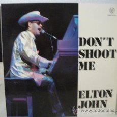 Discos de vinilo: LP ELTON JOHN, DON´T SHOOT ME I´M ONLY THE PIANO PLAYER, AÑO 1972, EDICIÓN ESPAÑOLA CON OTRA PORTADA. Lote 31742079