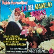 Discos de vinilo: DISCOS (ZARZUELA) LA DEL MANOJO DE ROSAS. Lote 31745378