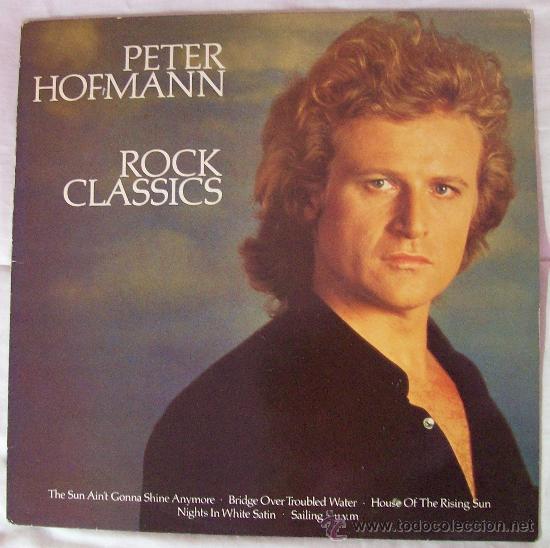 LP DE PETER HOFMANN ROCK CLASSICS EDIC. ALEMANA (Música - Discos de Vinilo - Maxi Singles - Pop - Rock Extranjero de los 70)