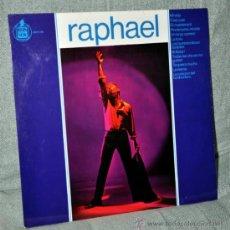 Discos de vinilo: RAPHAEL - LP ALBUM VINILO 12'' - EDITADO EN ESPAÑA - 12 TRACKS - HISPAVOX 1965. Lote 31754300
