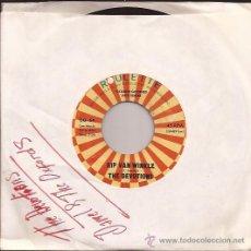 Disques de vinyle: SINGLE-THE DEVOTIONS / DARRELL & THE OXFORDS-ROULETTE 64-USA-REPRO-DOO WOP-. Lote 31755655