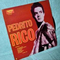 Discos de vinilo: PEDRITO RICO - LP VINILO 12'' - EDITADO EN PUERTO RICO - 12 TRACKS - SKIPPER RECORDS. Lote 31757579