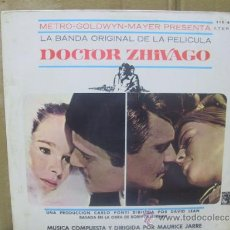 Discos de vinilo: DOCTOR ZHIVAGO - EDICION ESPAÑOLA - MGM 1966. Lote 31757702